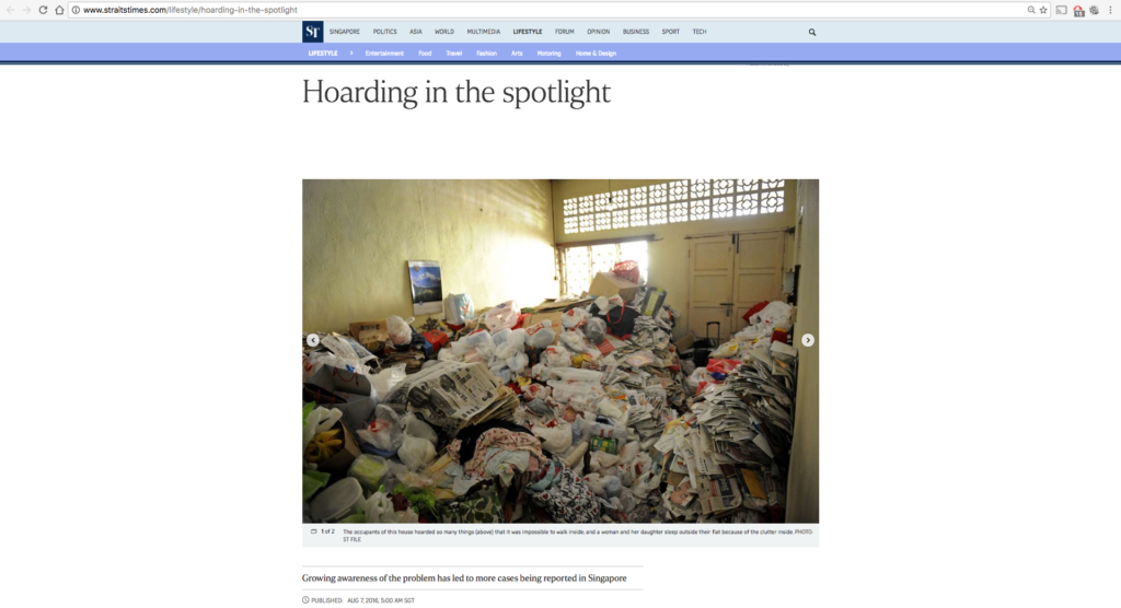 Hoarding in the spotlight