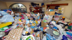 image of hoarded room