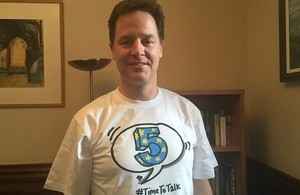 Nick Clegg, Time to Talk - Clouds End
