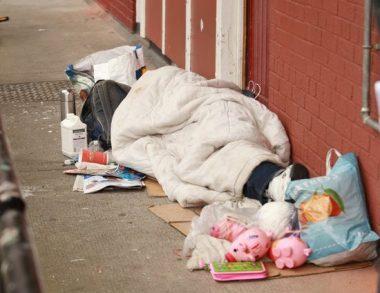 Dublin Hoarder Forced to Sleep on Doorstep
