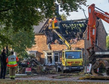 Firefights couldn't access hoarded home due to severe amount of clutter
