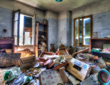 At 76 years old, she is overcoming a long history of hoarding