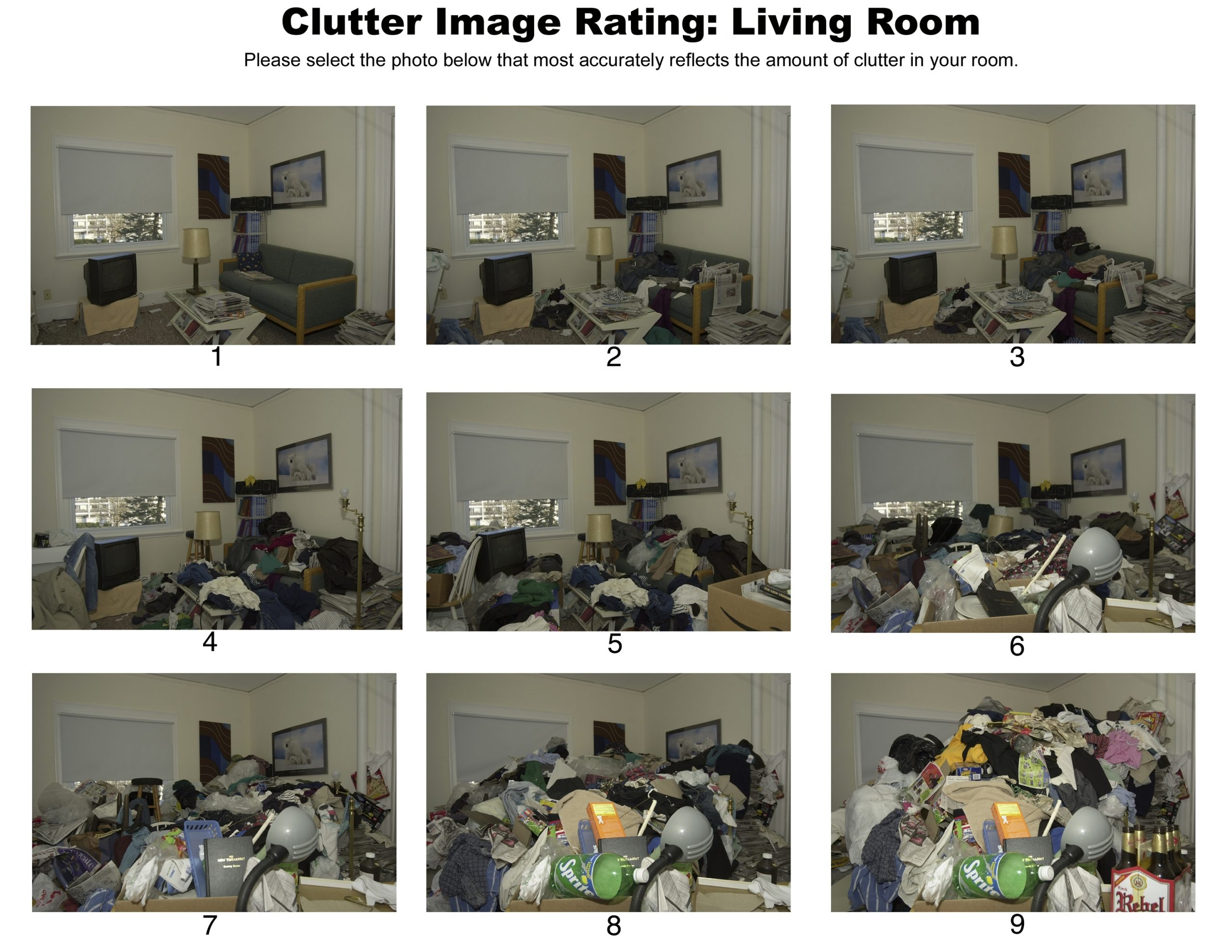 Clutter Image Rating - CloudsEnd CIC