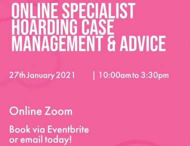 Online Specialist Hoarding Case Management & Advice
