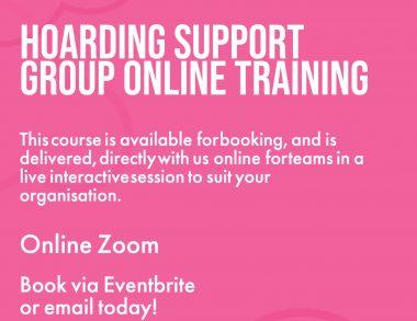 Hoarding Support Group Online Training