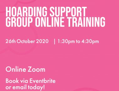 Hoarding Support Group Online Training