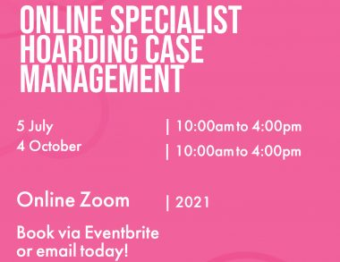 Specialist Hoarding Case Management - The Virtual Classroom